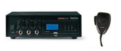 Amplificador y mocrófono Pem 73